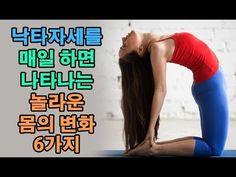 낙타자세를 매일 하면 나타나는 놀라운 몸의 변화 6가지 - YouTube Health Fitness, Tips, Youtube, Fitness, Youtubers, Youtube Movies, Health And Fitness, Counseling