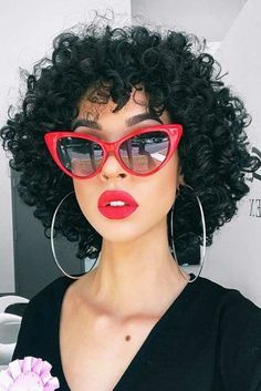 Lace Frontal Wigs Headband Braid With Curls Easy Short Curly Hairstyles Best Women Curly Wigs Hairstyles For Nurses With Curly Hair Curly Hair Cuts, Curly Hair Styles, Natural Hair Styles, Medium Natural Hair, Curly Bob Bangs, Curly Bob With Fringe, Medium Curly Bob, Curly Hair Model, Updo Curly