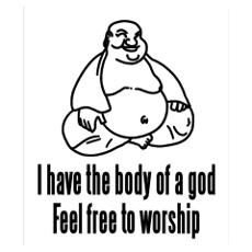 Body of a God - Feel Free To Worship Wall Art Poster