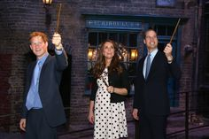 Oh my. The Duke and Duchess and the Prince combined with Harry Potter.