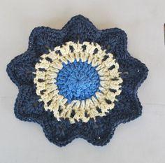 Snowflake Star Dishcloth