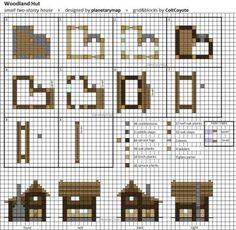 minecraft blueprints by planetarymap on DeviantArt
