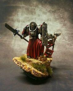 Brother Ettore #warhammer #40k #minotaurs