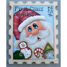 First Class Cookies ePattern - Sandy LeFlore - PDF DOWNLOAD