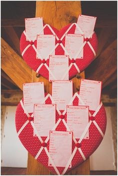 heart table plans