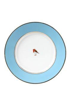 PiP Love Birds Gebaksbordje Blauw