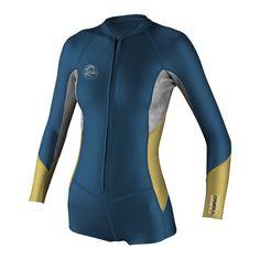 O'riginal 1mm long sleeve short spring wetsuit wom