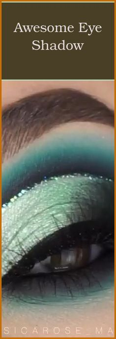 "We've heard the song ""Gonna make your brown eyes blue"" but how about the other way round? Many people with dark eyes imagine having lighter eyes, that... Woman With Blue Eyes, Blue Eyes Pop, Green Eyes, Best Eyeshadow, Eyeshadow Brushes, Eyeshadow Looks, Light Eyes, Dark Eyes, Blue Eye Makeup"