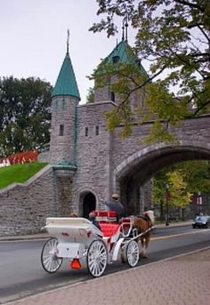 Quebec City,  Upper City Sightseeing, St Louis Gate