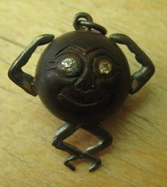 """touch-wood"" charm, worn or carried so you can always touch wood to keep good luck/avert bad luck when speaking of something."