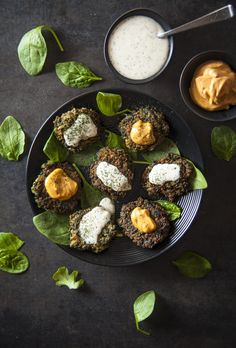 Spinach Quinoa Patties – Nina's Vegan Recipes