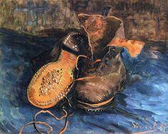 Vincent van Gogh...A Pair of Boots, 1887
