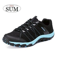 New men outdoor hiking shoes woman sneakers mesh breathable shoes summer 2017 trekking shoes non-slip lovers outdoor shoes