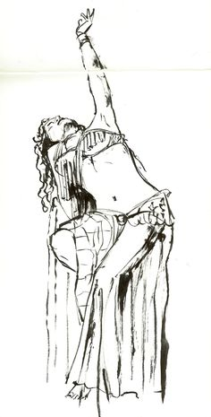 belly dancers coloring pages | Through Glasses