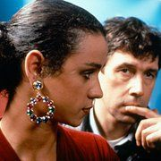 Jaye Davidson and Stephen Rea in The Crying Game (1992)