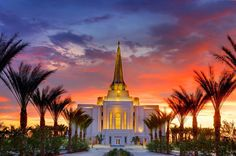 Gilbert Arizona LDS Mormon temple