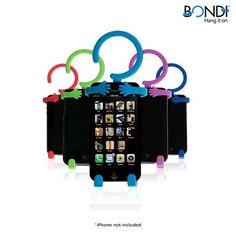 Bondi Hang It On Versatile Phone Holder - Assorted Colors at 40% Savings off Retail!