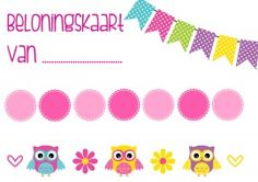 Beloningskaart Uiltjes Love My Kids, Love My Job, Owl Theme Classroom, Classroom Ideas, Teacher Boards, Reward System, School Hacks, Illustrations And Posters, Speech And Language