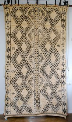 Vintage Moroccan Beni Ouarain Carpet 2647 - Products - Red Thread Souk