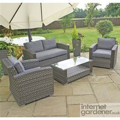 Maze Rattan Victoria 2 Seat Sofa Set, from the stunning new range of all weather rattan sofa sets