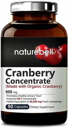 Ranking the best cranberry pills of 2020 - BodyNutrition Cranberry Extract, Turmeric Spice, Turmeric Curcumin, Cranberry Pills, Natural Colon Cleanse, Kidney Cleanse, Sugar Intake