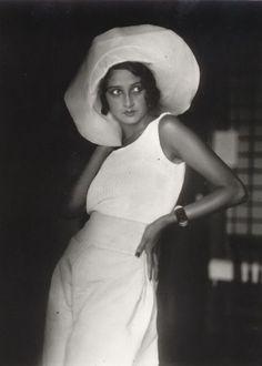 'Renée, Biarritz, August,1930