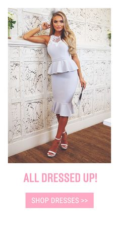 Shop women's clothes & the latest online ladies fashion at Pink Boutique UK. Celeb inspired clothing, party dresses, shoes & hair extensions with next day UK delivery. Pink Boutique Uk, Peplum Dress, Dress Up, Party Dresses Online, Fashion Dresses, Celebs, Style Inspiration, Clothes For Women, Lady