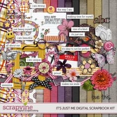 about-me-digital-scrapbooking-kit
