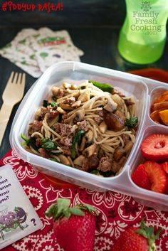 Giddyup Pasta Recipe | Project LunchBox | FamilyFreshCooking.com