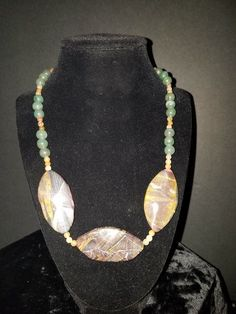"20"""" 3-Multi-Gemstone (Dyed) with Jade"