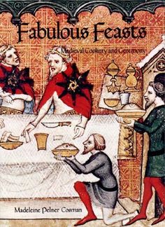 Fabulous Feasts: Medieval Cookery and Ceremony by Madeline Pelner Cosman, http://www.amazon.com/dp/080760898X/ref=cm_sw_r_pi_dp_QNkEpb0WJ407P