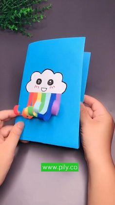 Diy Crafts Hacks, Diy Crafts For Gifts, Diy Arts And Crafts, Fun Crafts, Geek Crafts, Paper Crafts Origami, Paper Crafts For Kids, Craft Activities For Kids, Diy For Kids