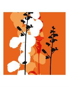 Saffron Indignation Photographic Print by Jan Weiss at Art.com