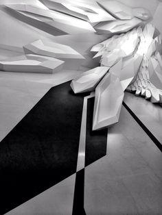 Interior by Zaha Hadid