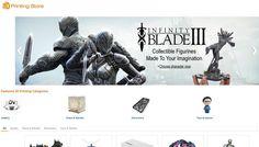 Amazon comenzó a ofrecer estatuillas de personajes de vídeo juegos impresas en 3D