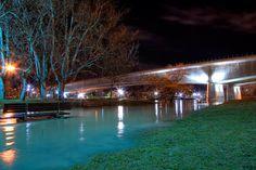 Impresionante fotogarfía realizada por Katssenian del río Ebro desbordado.