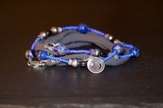 Celestial Dreams  beaded warrior wrap with by alccreations on Etsy, $138.00