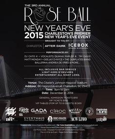 new years eve charleston sc 2015! the rose ball - www.CharlestonRoseBall.com - VIP Sold Out!