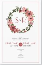 botanicals floral Invitations & Announcements