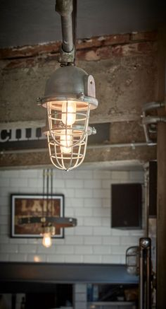 Bulkhead Cage Pendant - 11 Inch - Gunmetal Industrial Lighting, Industrial Style, Cascade Lights, Wall Lights, Ceiling Lights, Wall Mounted Light, Patina Finish, Ceiling Rose, Glass Holders
