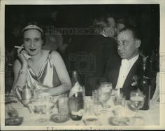 This is an original press photo. This photo taken in 1933 shows them dining out. Photo is dated 10-02-1934. A: The short answer is no. It may contain wrinkles, cracks, and possibly even tears due to its age and how it was handled before it got to us. | eBay!