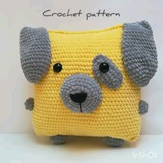 2 in 1 pattern/pillow pattern/ Amigurumi pillow/Crochet pillow pig /Crochet pattern pillow/ crochet pillow dog /amigurumi pig/crochet dog Crochet Dog Patterns, Crochet Pig, Crochet Animal Amigurumi, Crochet Pillow Pattern, Amigurumi Doll, Crochet Animals, Baby Blanket Crochet, Easy Crochet, Crochet Toys
