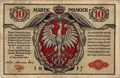 Polish banknote from 1917 - 10 Marek Polskich - Polish złoty - Wikipedia, the free encyclopedia