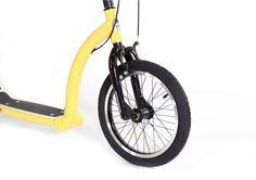 SwiftyAIR Yellow and Black | Custom Colour | Adult Scooter | Kick Scooter | Stunt Scooter - Swifty Scooters