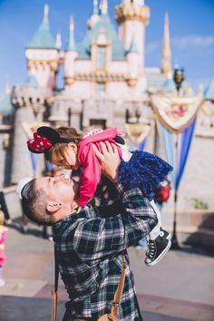 Adorable photo album of a dad and his daughter at Disneyland and Disney's California Adventure. Click through for more! #Disney #DCA #Disneyland