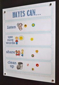 printable toddler incentive sticker chart