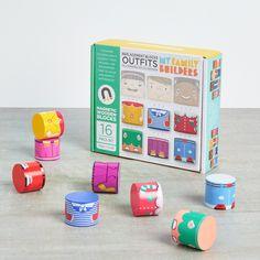 Wooden Train Building Blocks Educational Learning Toys Set For Children Kids H
