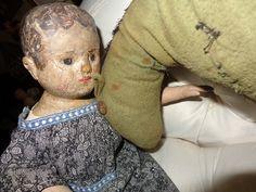 Antique Izannah Walker doll