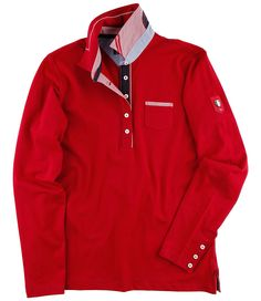 #Rugby-Polo rot Damen Sweatshirts, Trends, Rugby, Men's Fashion, Polo, Athletic, Adidas, Sweaters, T Shirt