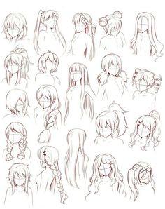 Anime Drawings Sketches, Manga Drawing, Hair Drawings, Anime Hair Drawing, Anime Sketch, Drawing Male Hair, Drawing Anime Bodies, Drawing Anime Clothes, Pencil Art Drawings